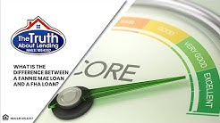 The Truth About Lending - What is the difference between a Fannie Mae Loan and a FHA loan?