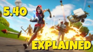 Fortnite 5.40 Patch Explained [GR]