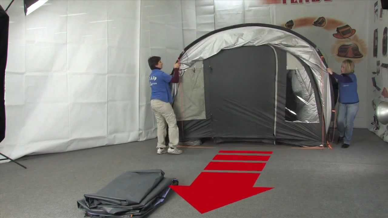 montaggio tende da campeggio spazio bertoni - youtube