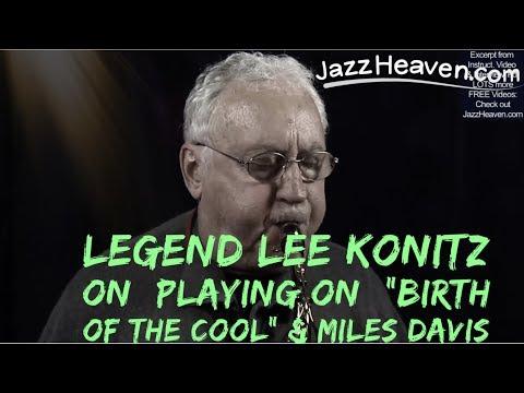 "Lee Konitz on ""Birth of the Cool"" & *Miles Davis* JazzHeaven.com Masterclass/Interview Video Excerpt"