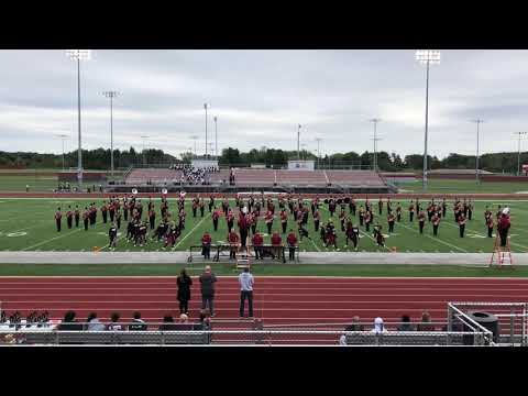 Mishawaka High School Marching Cavemen 2018 ISSMA GOLD Performance