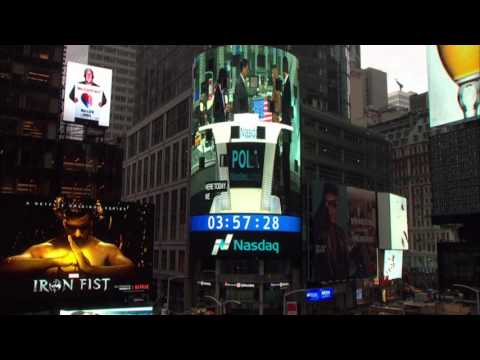 Times Square NASDAQ broadcast Closing Bell Ceremony March 7, 2017