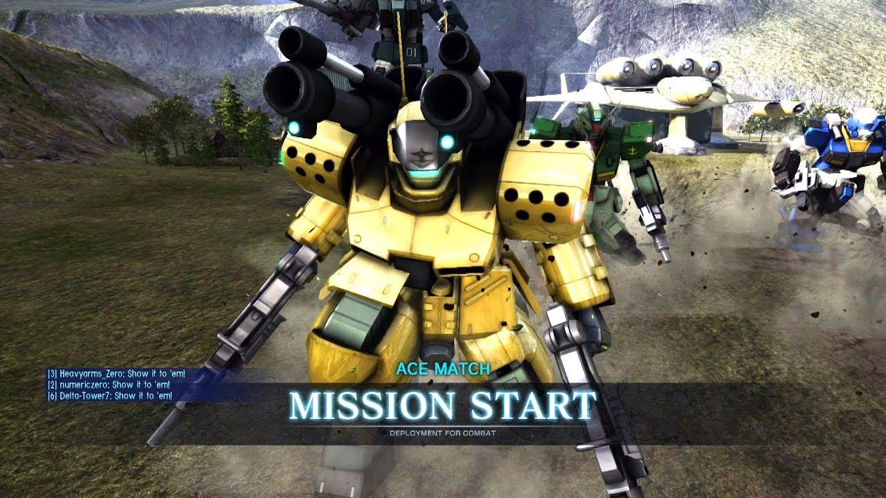 Gundam: Battle Operation 2 - Guncannon Mass-Production Type (full  commentary)
