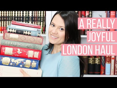A Really Joyful London Book Haul | Folio Society Books and a Manuscript Copy of Jane Eyre