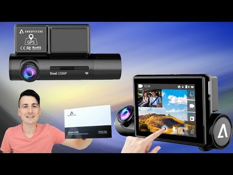 Dual Dash Camera Review // 1080p GPS WiFi Touch Screen Smart Dash Cam Anoopsyche