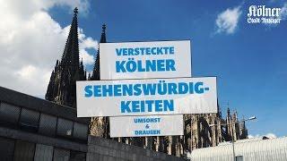 Sechs versteckte Sehenswürdigkeiten in Köln