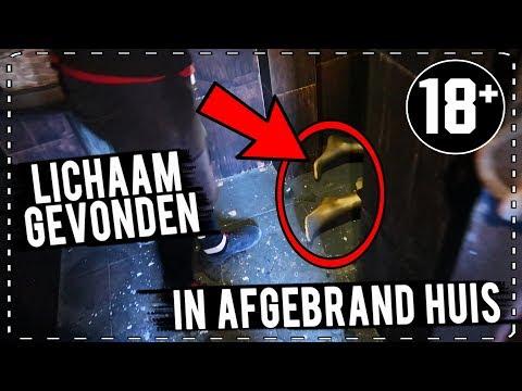 LICHAAM GEVONDEN in AFGEBRAND (VERLATEN) HUIS in PORTUGAL...