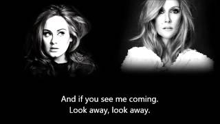 Celine Dion   Water And Flame ft  Adele