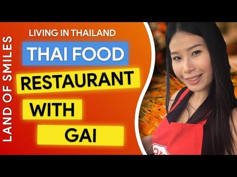 Living in Thailand Sabai Sabai Restaurant and Coffee Shop near Phetchaburi