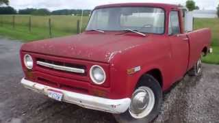 1969 IH International Harvester Pickup Truck Upper Sandusky Oh