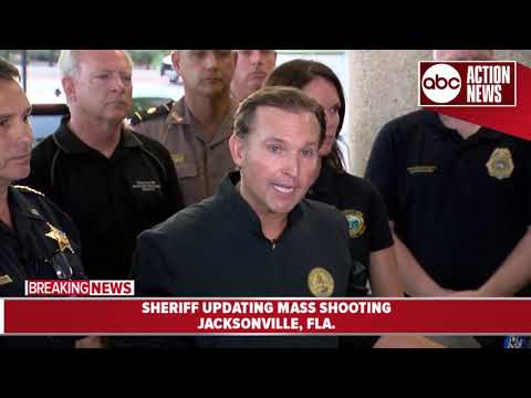 Sheriff IDs suspect in Jacksonville video game event shooting   News Conference