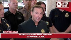 Sheriff IDs suspect in Jacksonville video game event shooting | News Conference