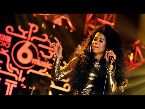 Kelis  Trick me at the 6 Music Festival