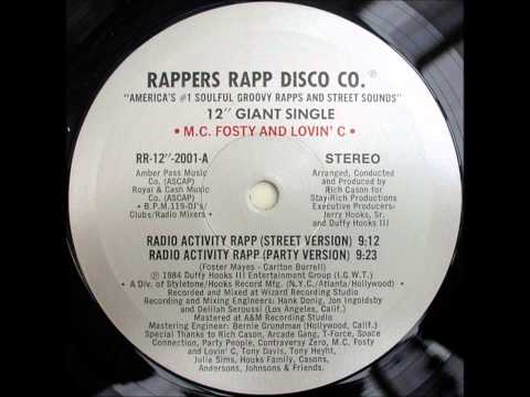 MC Frosty & Lovin' C - Radio Activity Rapp (street version)