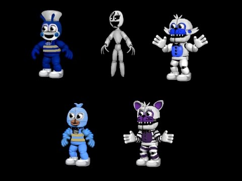 FNaF SONG II All Adventure JOLLY character's Voices