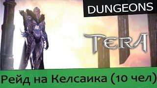 Обзоры подземелий TERA online (RU) - Гнездо Келсаика 10 чел (норм)