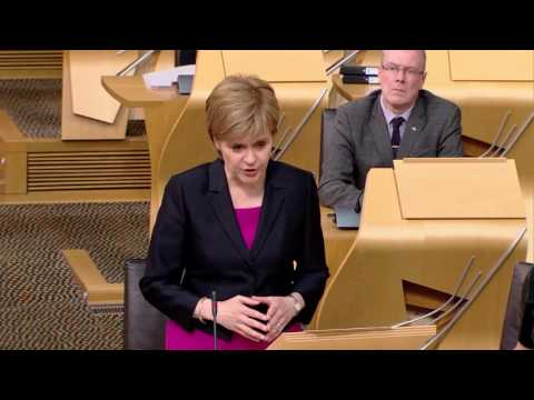 Topical Questions - Scottish Parliament: 14th June 2016