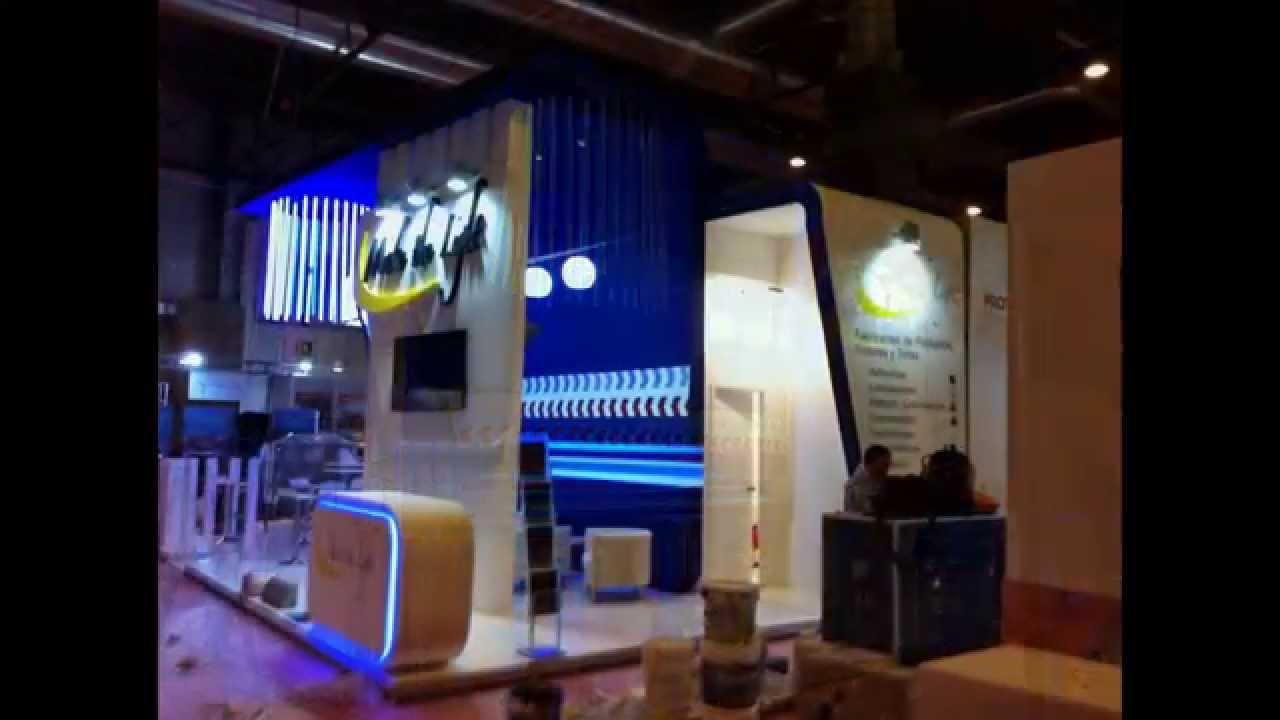 Stands para ferias youtube for Disenos de stand para exposiciones