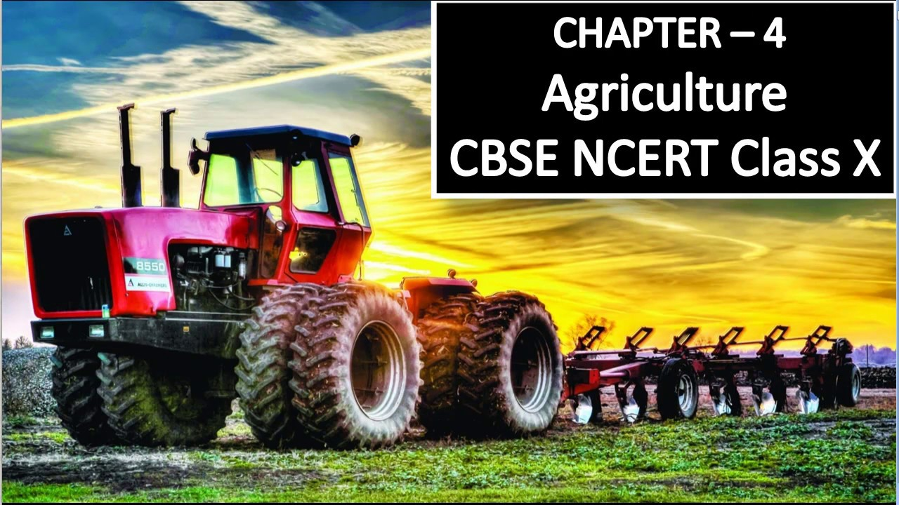 Class x agriculture