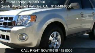 2011 Ford Escape Limited 4WD - for sale in Roseville, CA 956