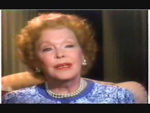 Maureen O'Sullivan talks about Tarzan