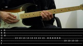 RHCP - Parallel Universe + live solo (lesson w/ tabs)