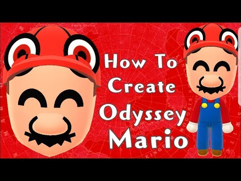 Mii Maker: How To Create Odyssey Mario!