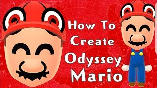 Mii Maker: How To Create Odyssey Mario!