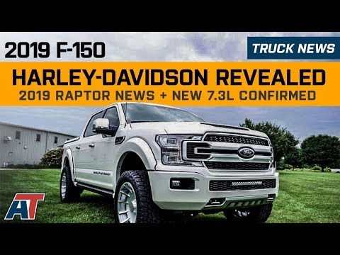 2019 F150 Harley Davidson Revealed | 2019 Raptor Update | 7.3L V8 Confirmed | Give Away - Truck News