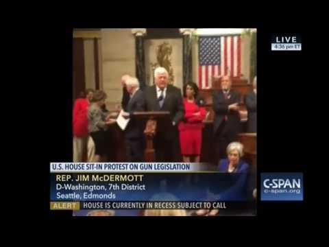 Rep. Jim McDermott sit-in 062216