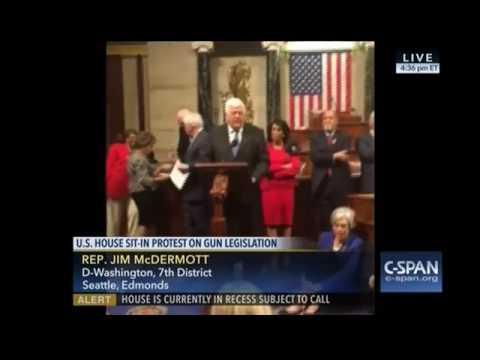 Rep. Jim McDermott sit-in 062216