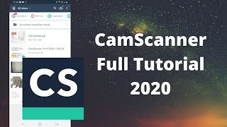 How to Use CamScanner (2020) | CamScanner Tutorial screenshot 4