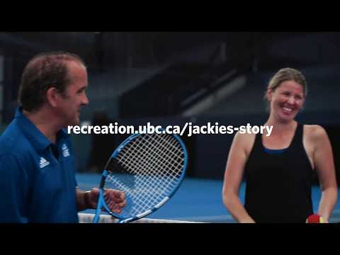 Jackie's Story: A Beginner's Take on Tennis at UBC