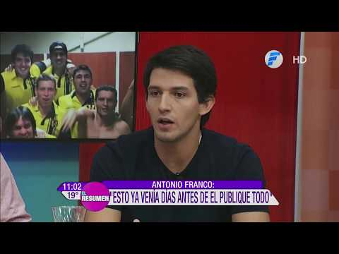 En exclusiva Antonio Franco en El Resumen