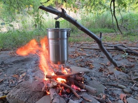 Stanley Adventure Camp Cook Set Cookout! - YouTube