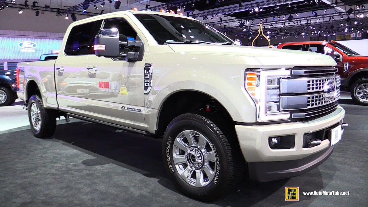 2017 ford f350 super duty platinum exterior and interior walkaround 2016 la auto show youtube. Black Bedroom Furniture Sets. Home Design Ideas