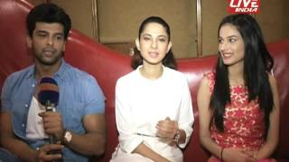 JENNIFER WINGET, KUSHAL TONDON, ANERI INTERVIEW FOR THEIR SHOW BEHAYD
