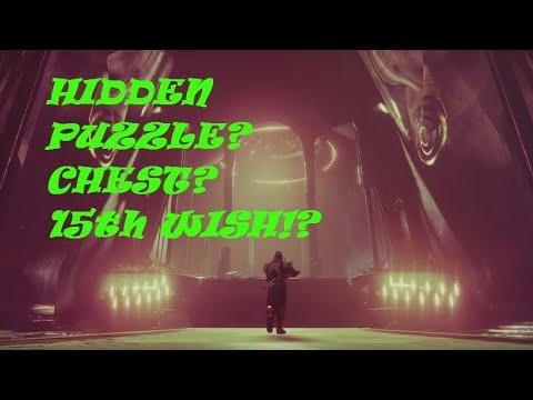 Secrets YET! Hidden puzzle chest?! 15th wish?!