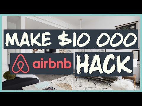 $10 000 HACK with AIRBNB (How to Make Money with Airbnb) 💻🌴