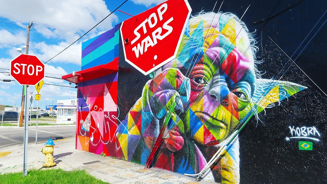 star wars mural in wynwood miami art district