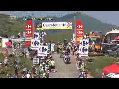 Tour De France 2010   Stage 15   Andy Schleck lose the yellow jersey