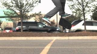 Skateology: 360 flip (1000 fps slow motion)