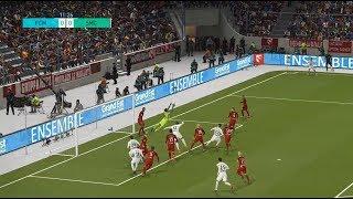 FC Metz vs SM Caen   Ligue 1   Journée 34   21 Avril 2018   PES 2018