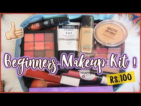 complete beginners makeup kit starting at rs100