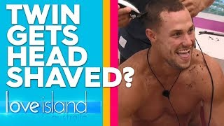 Twins go head-to-head; and the loser has to shave his hair | Love Island Australia 2019