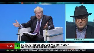 Only something 'bizarre' could stop UK's Boris Johnson – Galloway