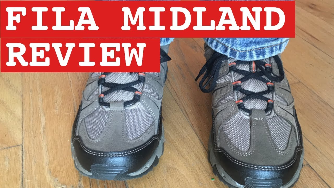 Fila Midland Trail Running Shoe Review