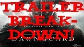 Skyrim: Dawngaurd DLC Trailer Breakdown (Hidden Info)