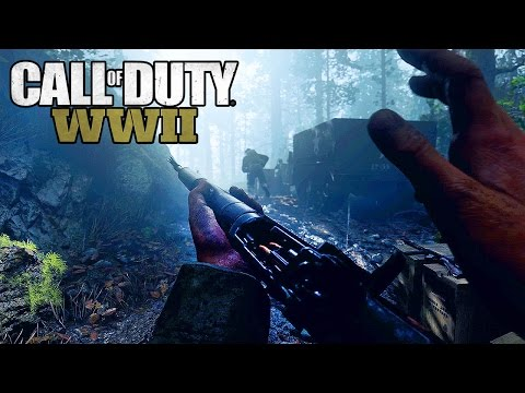 Call Of Duty: World War II - Reveal Trailer HIGH QUALITY @ 1440p (60ᶠᵖˢ) HD ✔