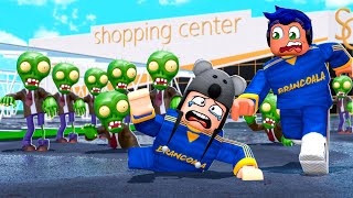 ROBLOX: ZUMBIS INVADIRAM O SHOPPING - Brancoala Games